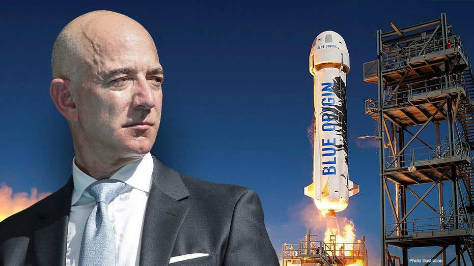 Jeff bezos will be out of space