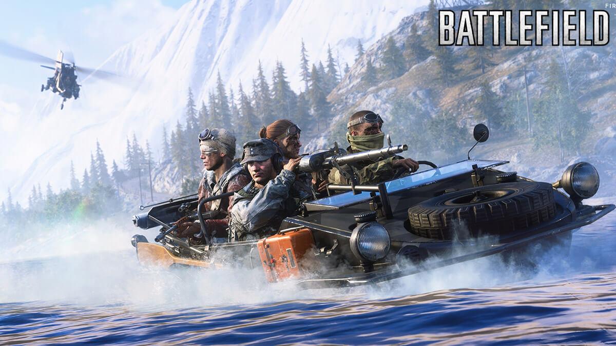 Kampanye Battlefield 2042 Nixes, Battle Royale
