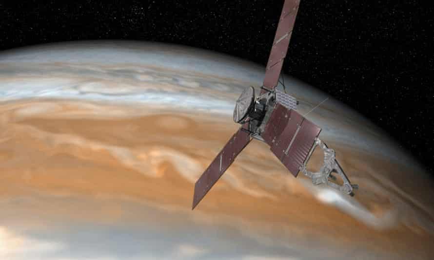 NASA Mission Juno sent back two first-month giants Jupiter