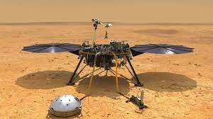 Nasa Mars Lander's persight has just gave themselves a dust bath