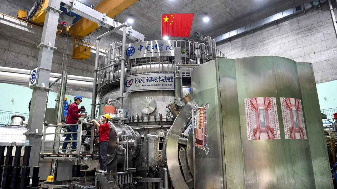 The Chinese fusion reactor defines an operational record